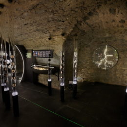 Muzeum vltavínů - expozice vltavínů