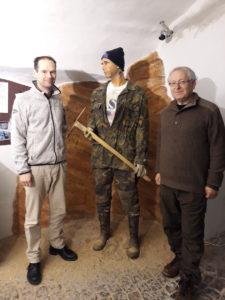 Návštěva Václava Cílka v Muzeum vltavínů