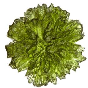 Raw moldavites